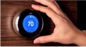 A smart thermostat is one way to save on your power bill.